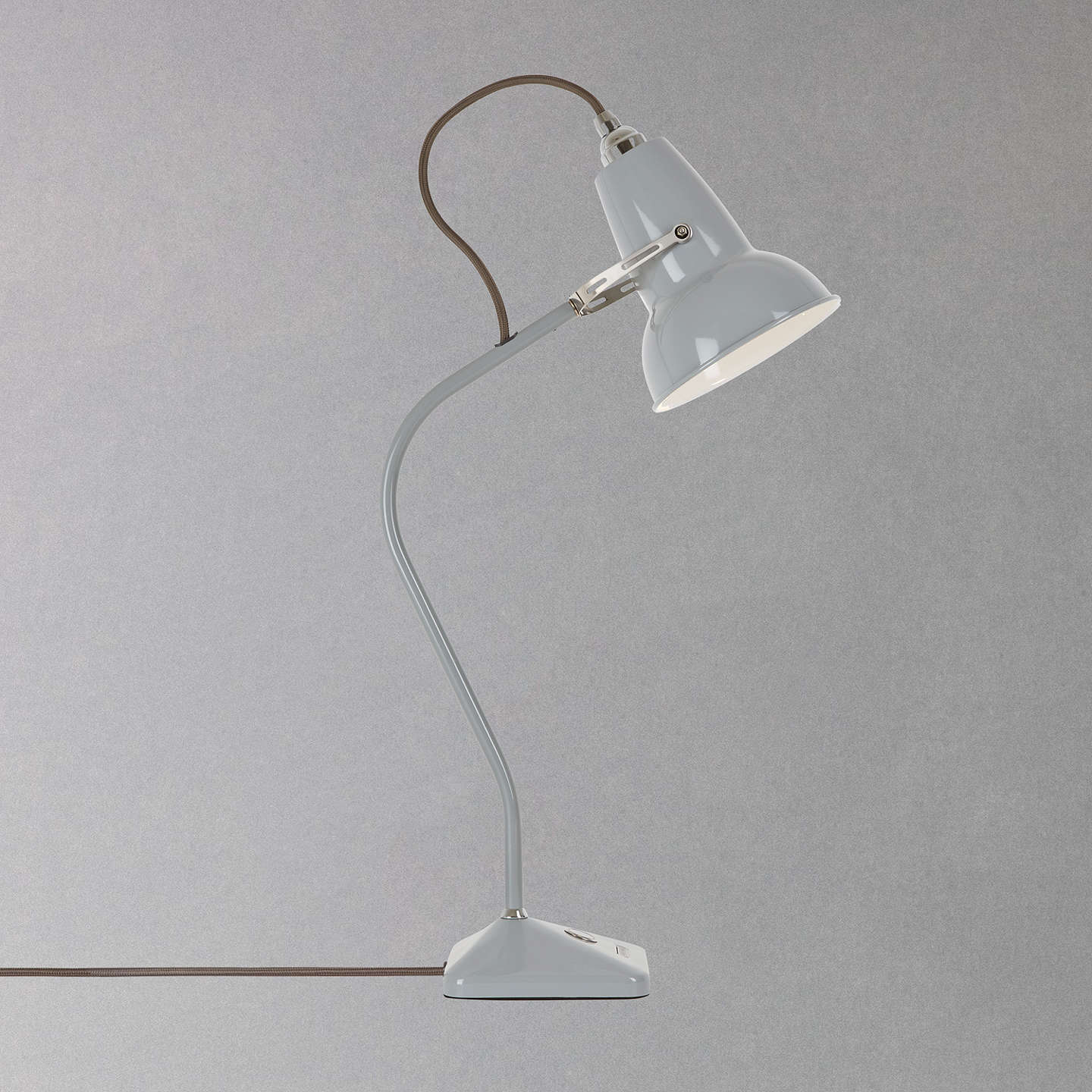 BuyAnglepoise Original 1227 Mini Table Lamp, Dove Grey Online at johnlewis.com