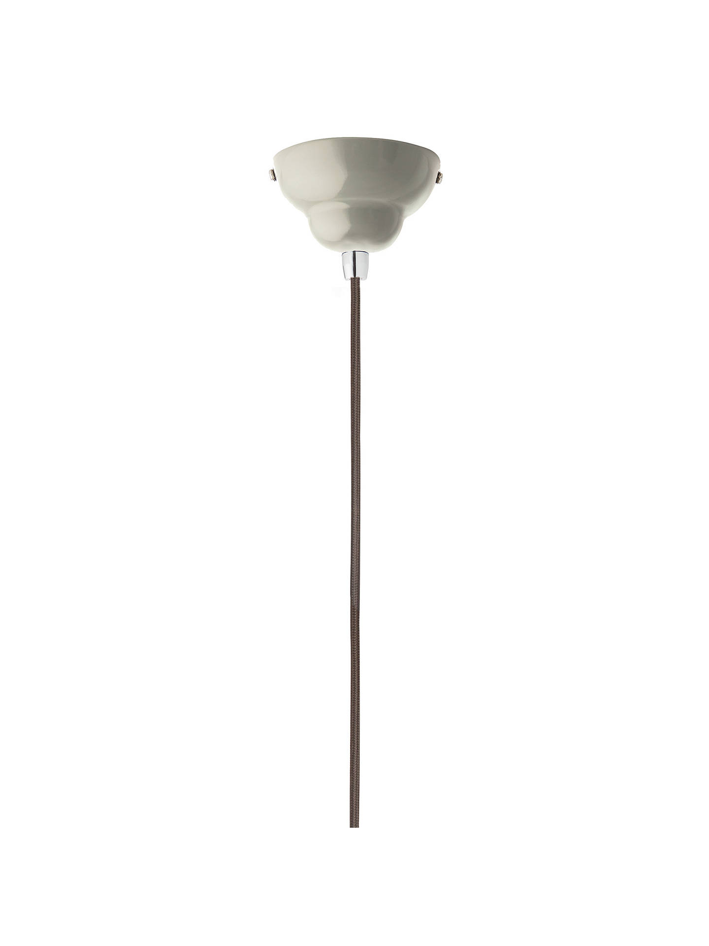 BuyAnglepoise 1227 Midi Ceiling Light, Linen White Online at johnlewis.com