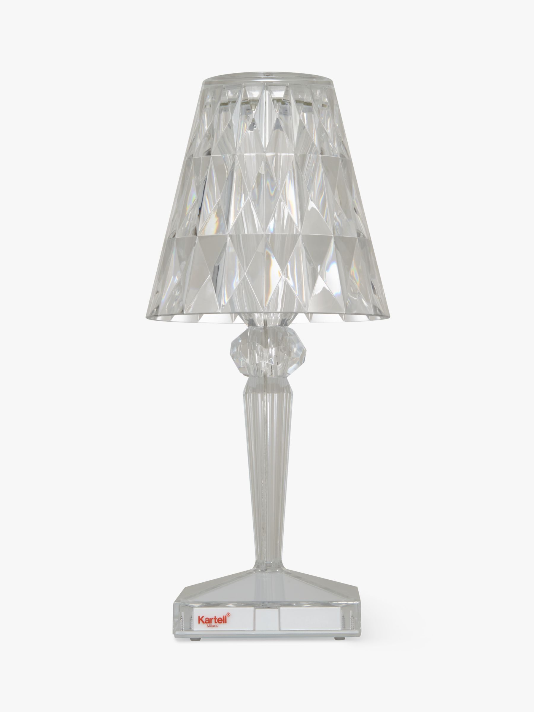 Picture of: Kartell Battery Table Lamp At John Lewis Partners
