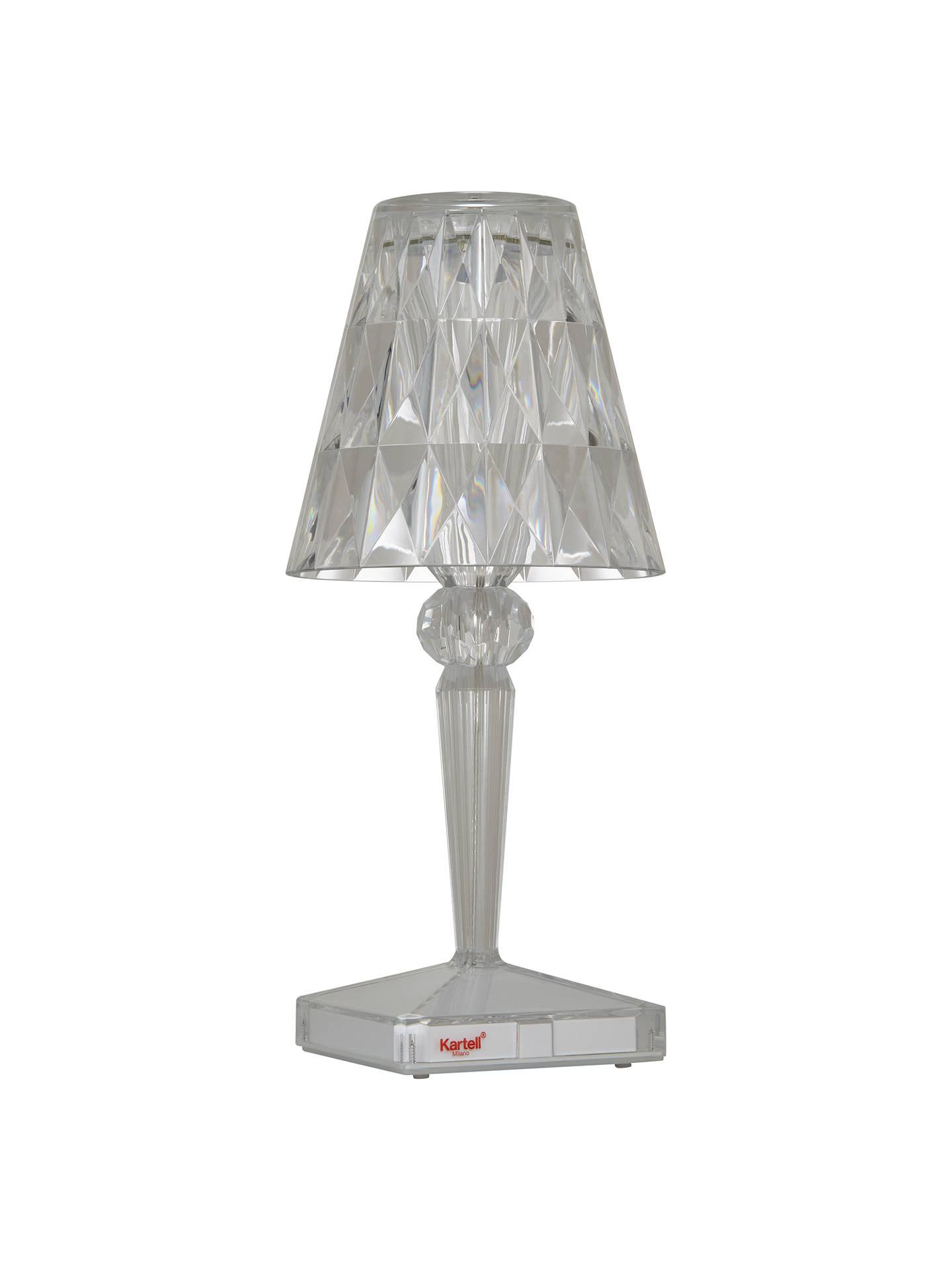 Kartell Battery Table Lamp At John Lewis Amp Partners