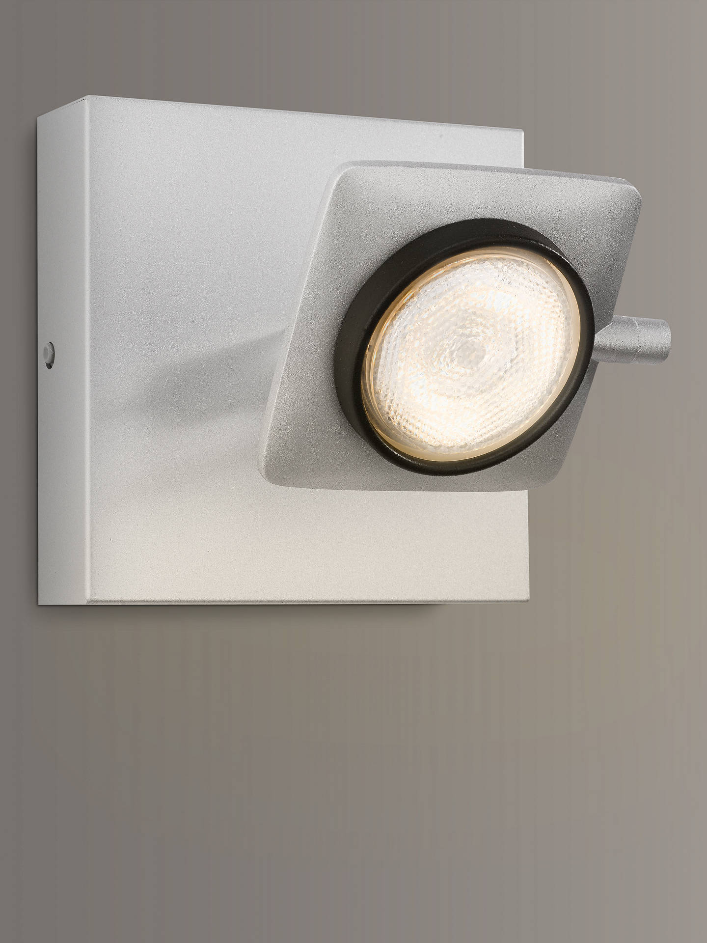 Buy Philips Millennium LED Single Warmglow Spotlight, Aluminium Online at johnlewis.com