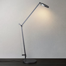 Buy Artemide Demetra LED Dimmable Desk Lamp, Titanium Online at johnlewis.com