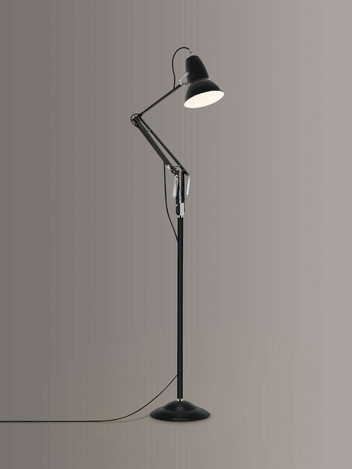 Buy Anglepoise Original 1227 Floor Lamp, Black Online at johnlewis.com