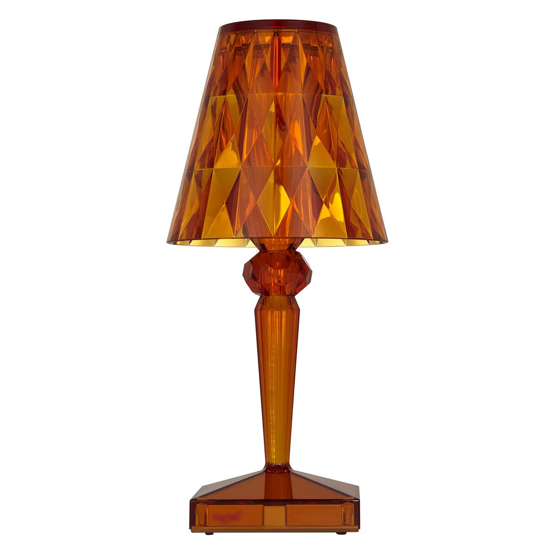 Kartell Battery Table Lamp Amber At John Lewis