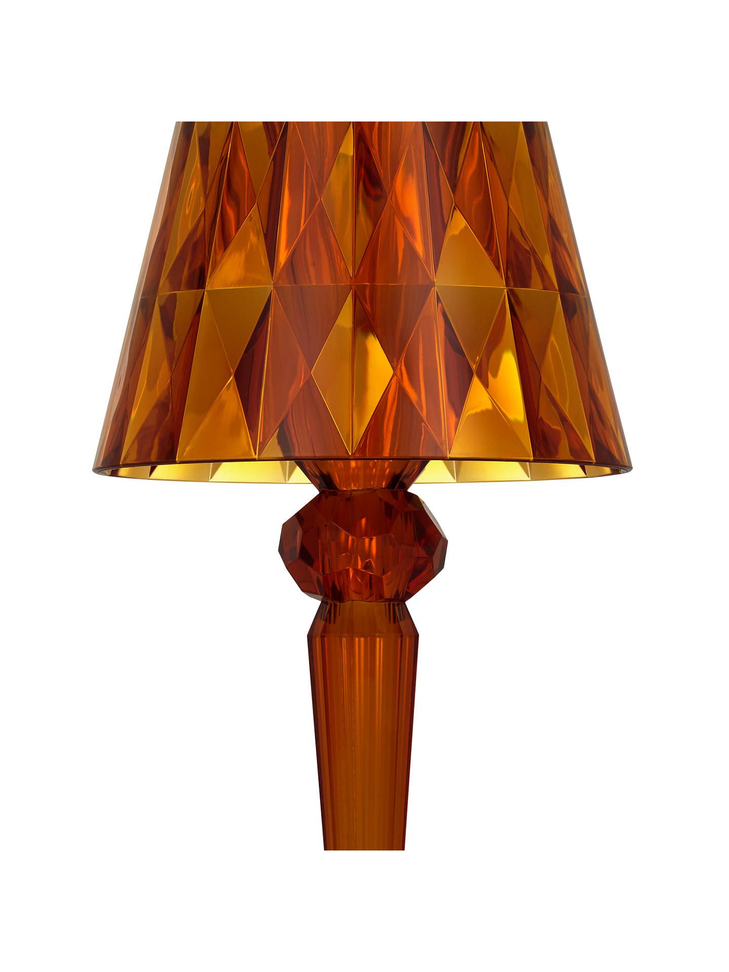 Buy kartell battery table lamp amber online at johnlewis com