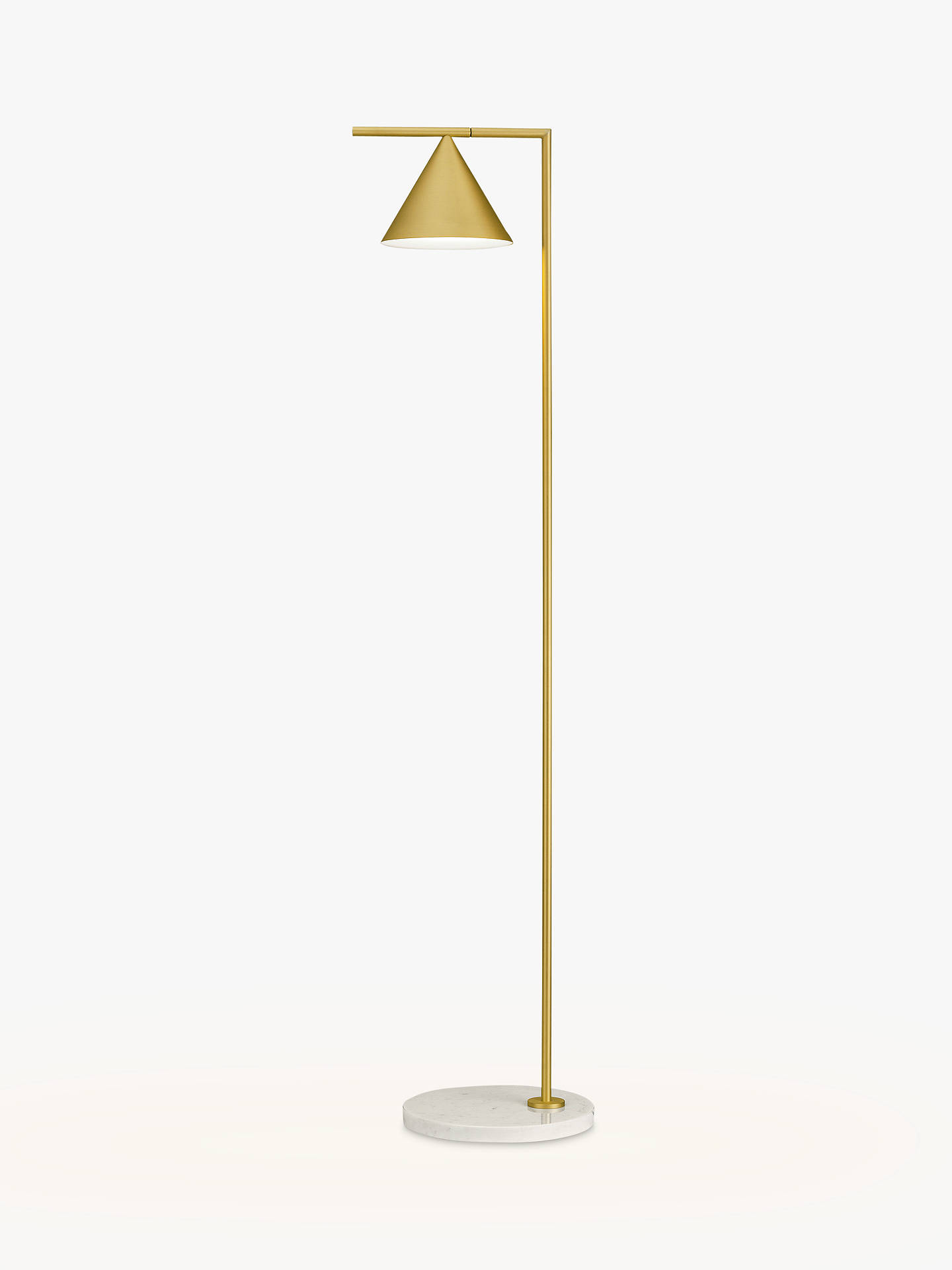 BuyFlos Captain Flint LED Floor Lamp, Brass Online at johnlewis.com