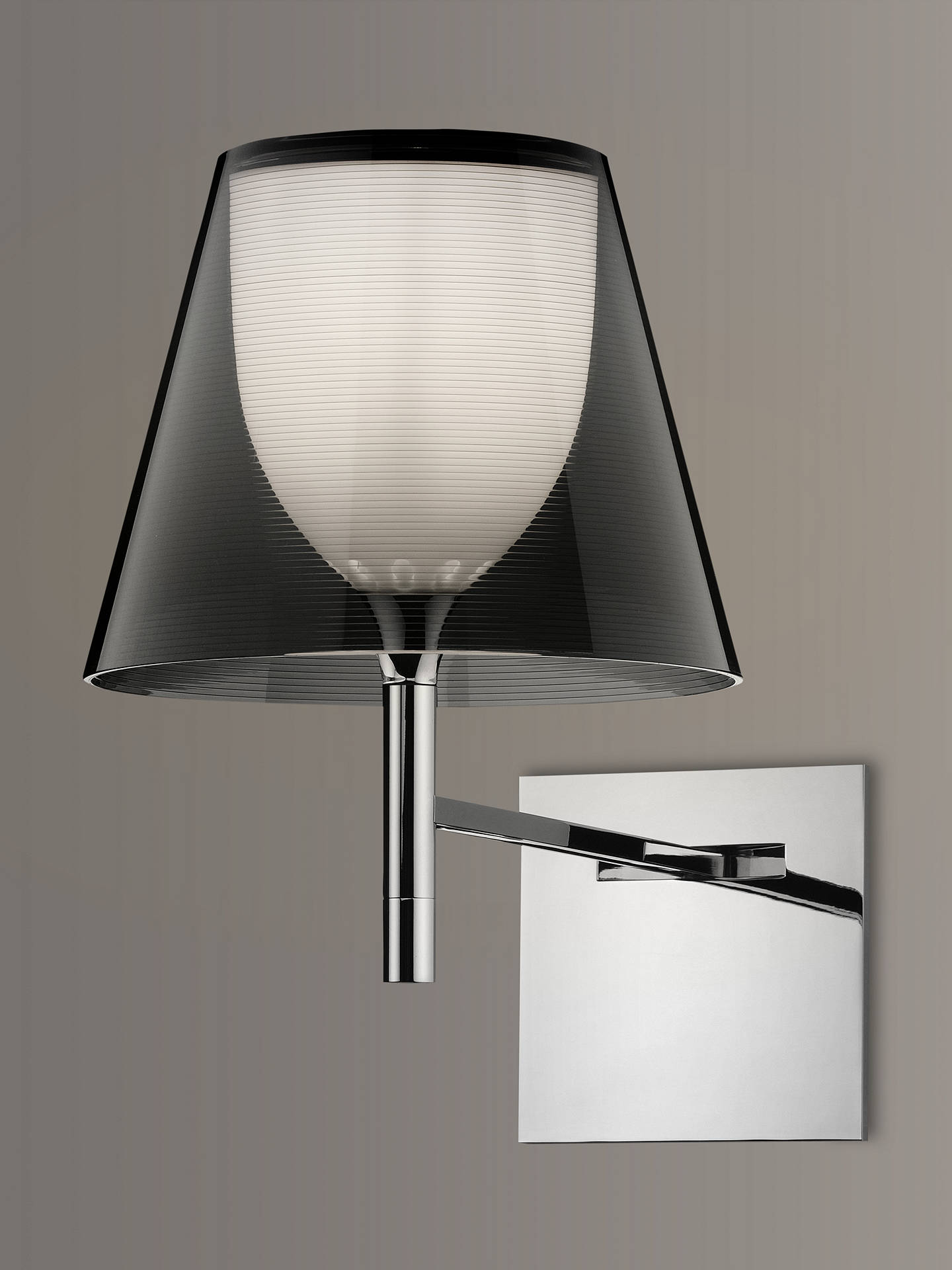BuyFlos K Tribe Wall Light, Smoke Online at johnlewis.com