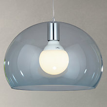 Buy Kartell Fly Small Ceiling Light, Sky Blue Online at johnlewis.com