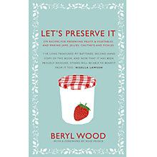 Buy Let's Preserve It Recipe Book Online at johnlewis.com
