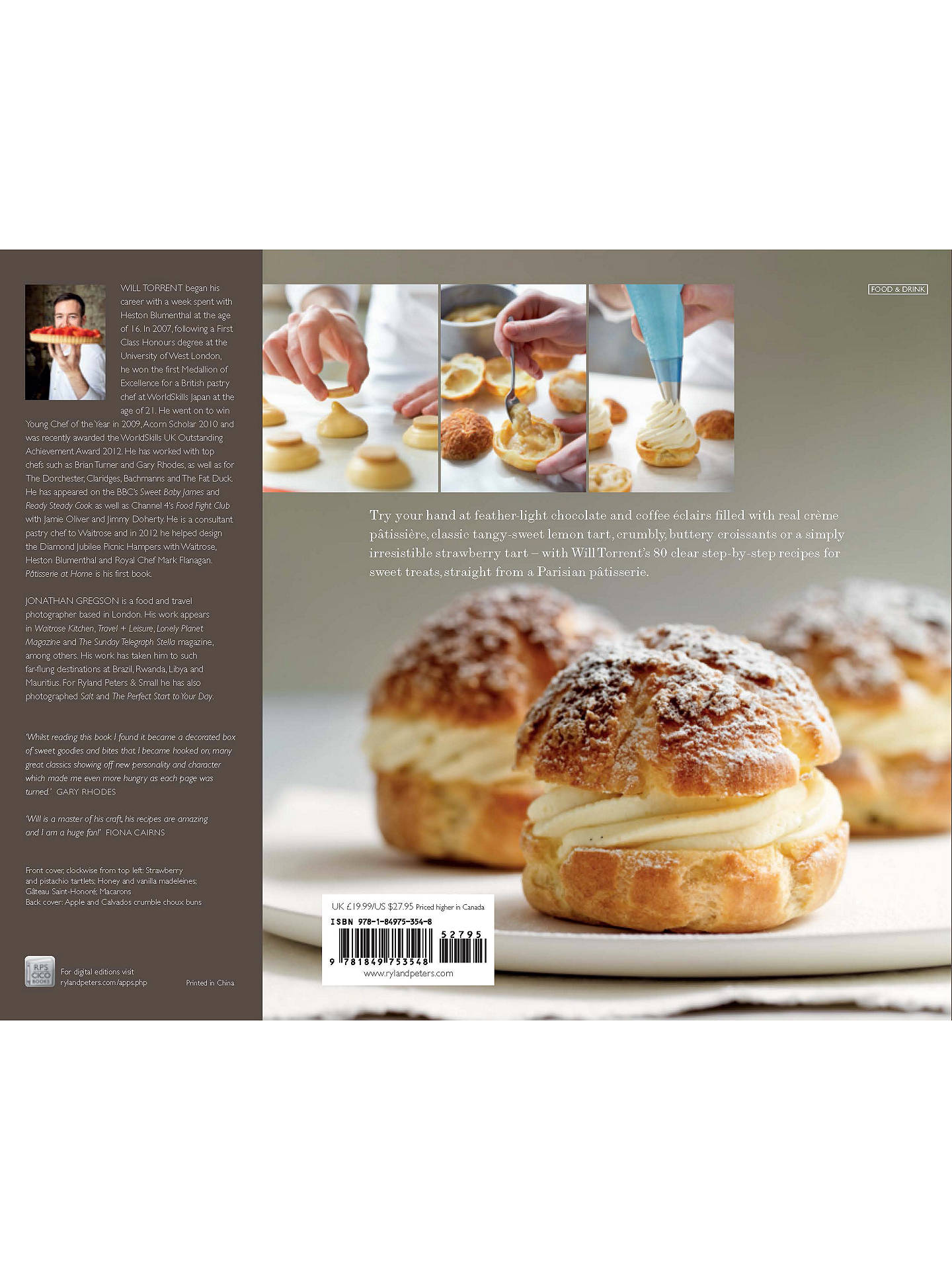 Patisserie At Home Recipe Book At John Lewis Partners