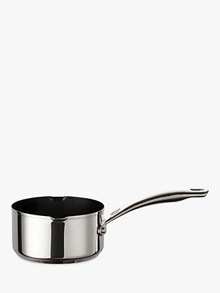 Circulon Ultimum Stainless Steel Non-Stick Milk Pan, 14cm