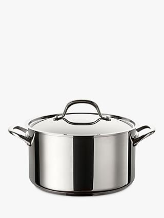 Circulon Ultimum Non-Stick Stainless Steel Stock Pot, 24cm