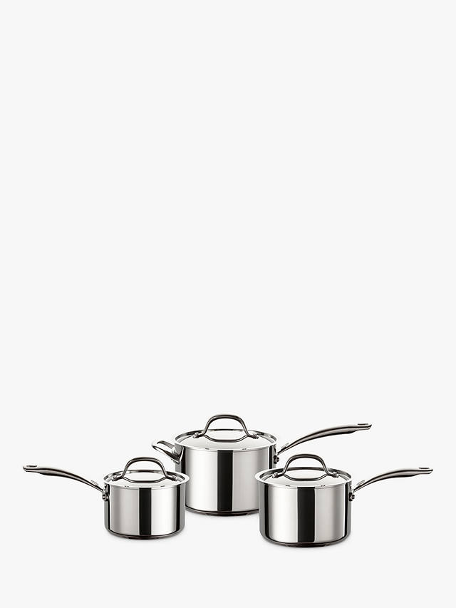 Buy Circulon Ultimum Stainless Steel Pan Set, 3 Pieces Online at johnlewis.com