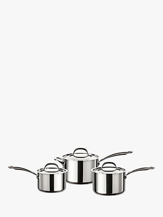 Circulon Ultimum Stainless Steel Pan Set, 3 Pieces
