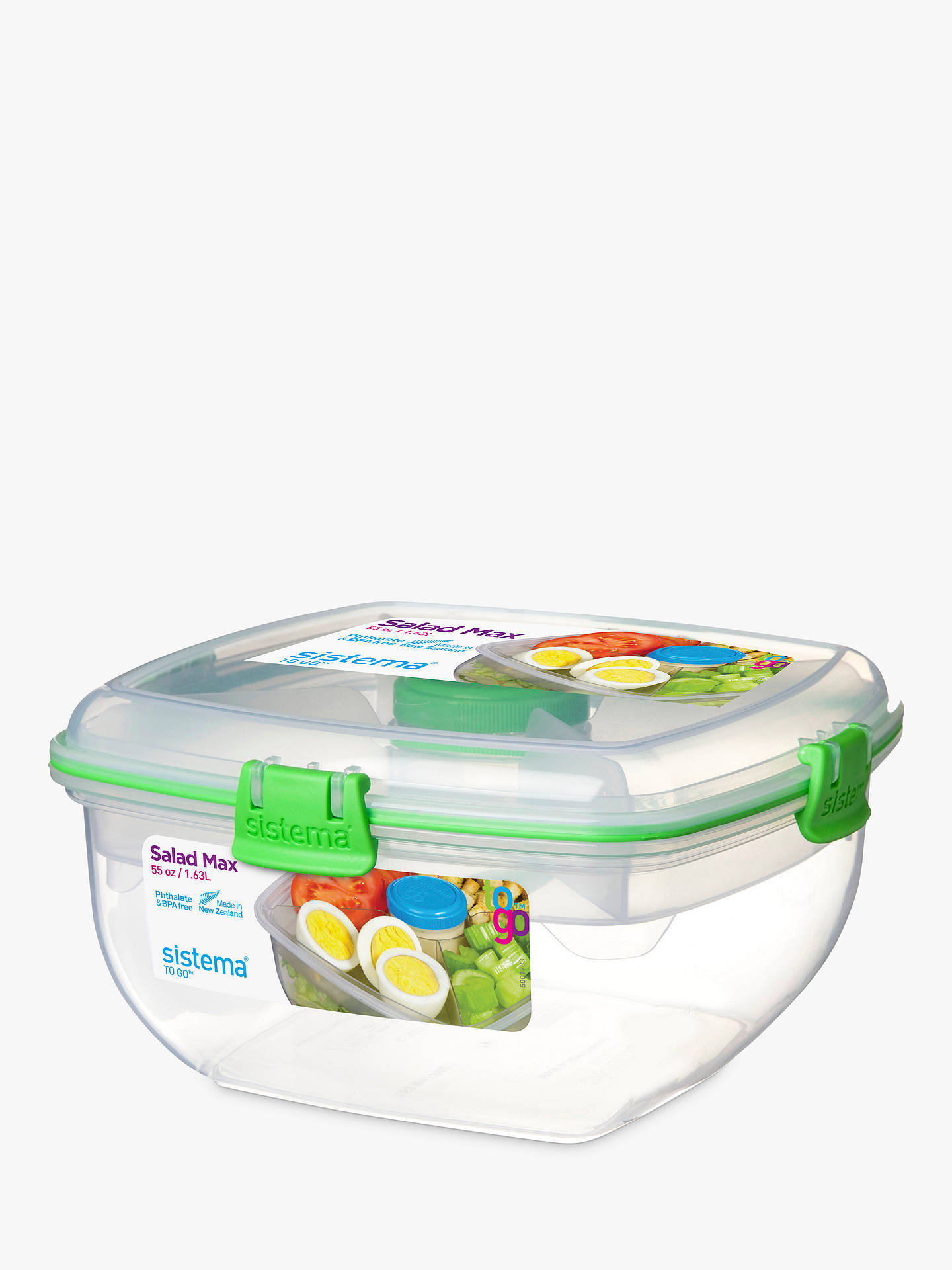 Buy Sistema Salad To Go Max Food Storage Container Online at johnlewis.com