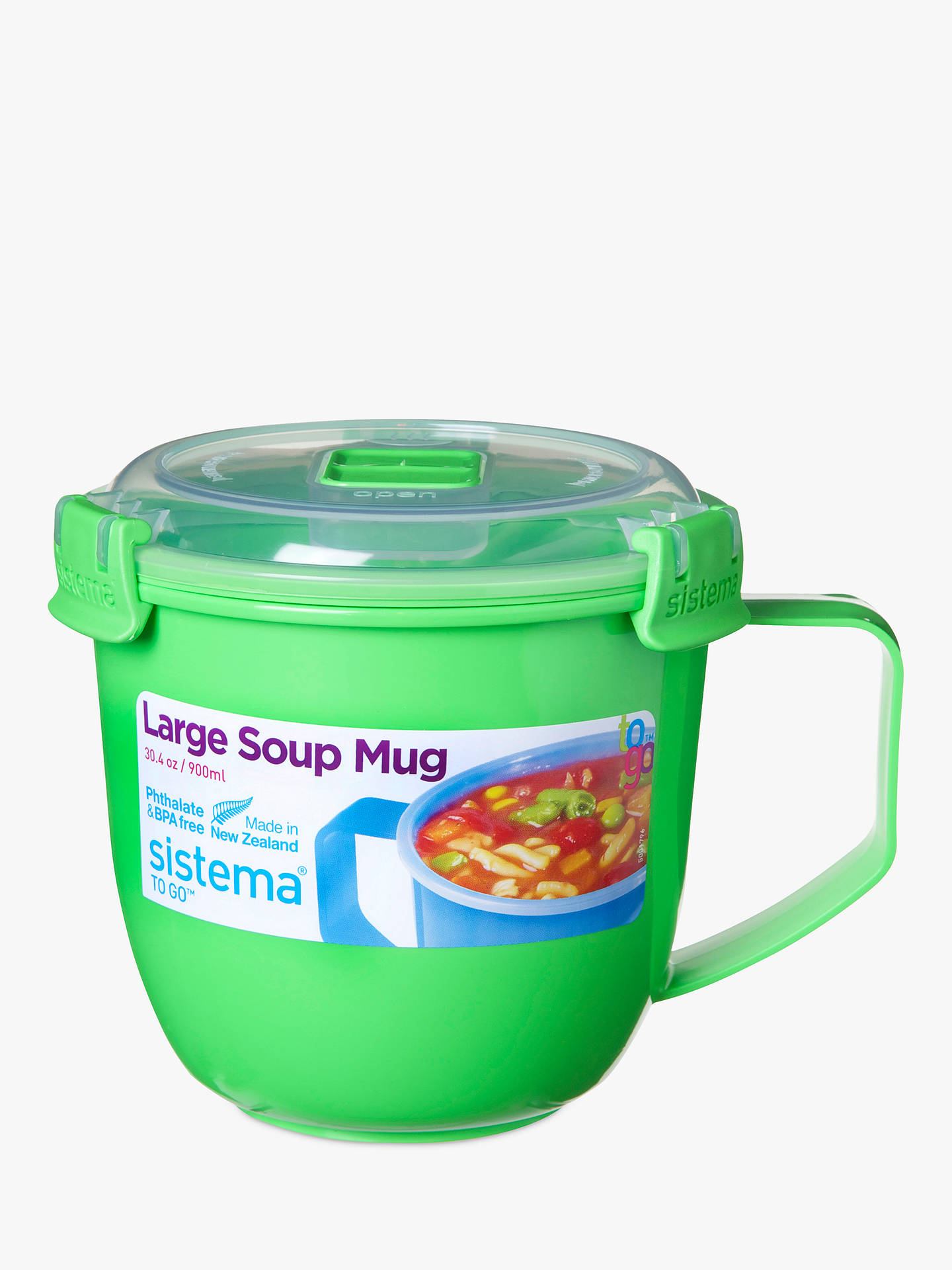 BuySistema Soup Mug To Go, 900ml, Assorted Online at johnlewis.com