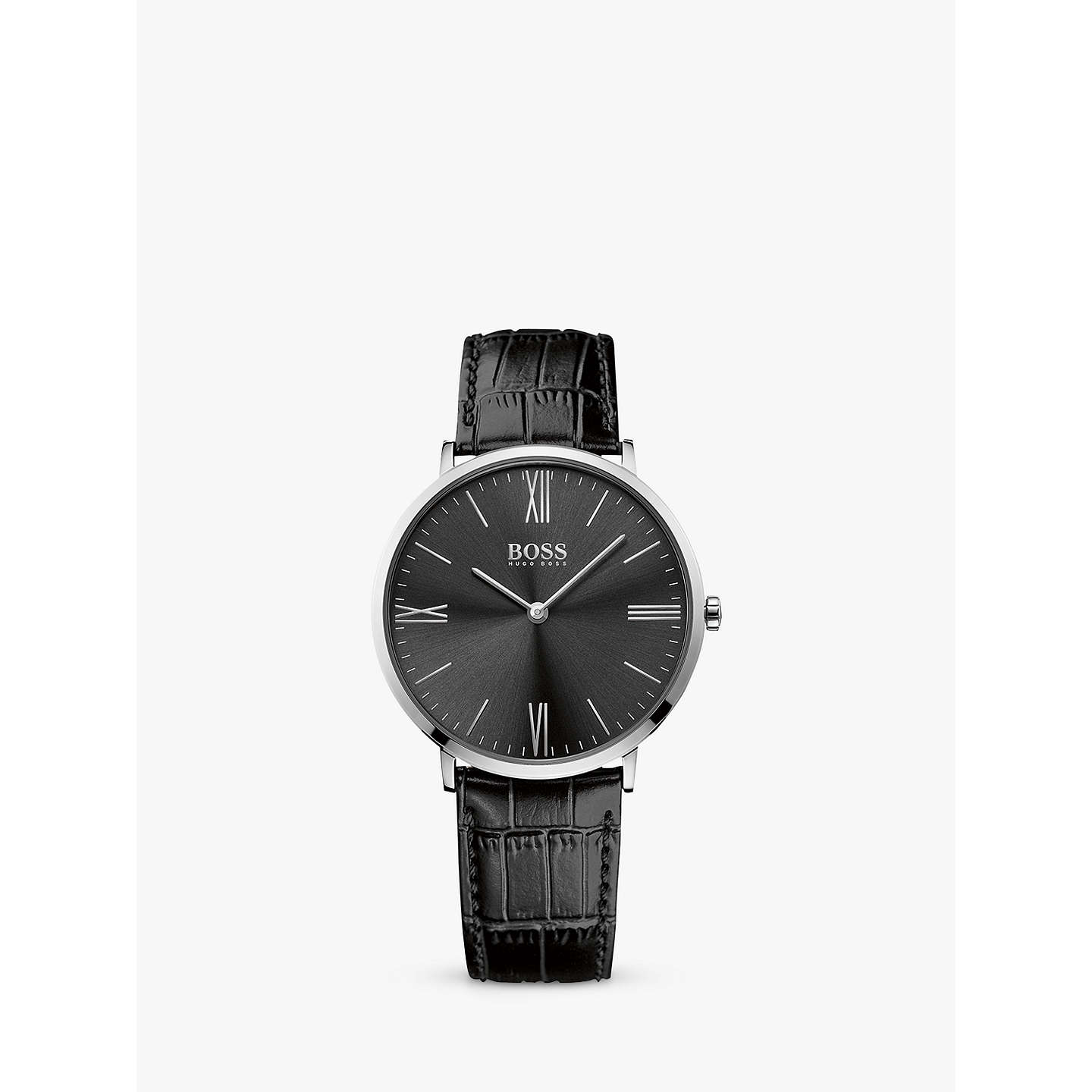 black faith ted watches strap from image baker jewellers leather uk watch womens