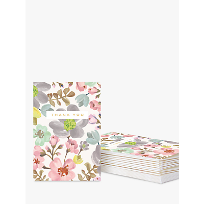 Product photo of Caroline gardner thank you notecards pack of 10