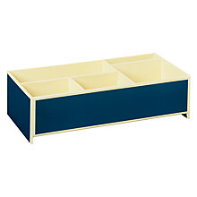 Buy Semikolon Stackable Mini Tray, Marine Blue Online at johnlewis.com