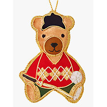 Buy Tinker Tailor Tourism Golfing Bear Tree Decoration Online at johnlewis.com
