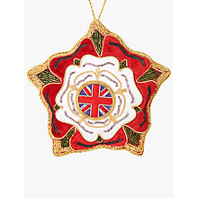 Buy Tinker Tailor Tourism Tudor Rose Tree Decoration Online at johnlewis.com