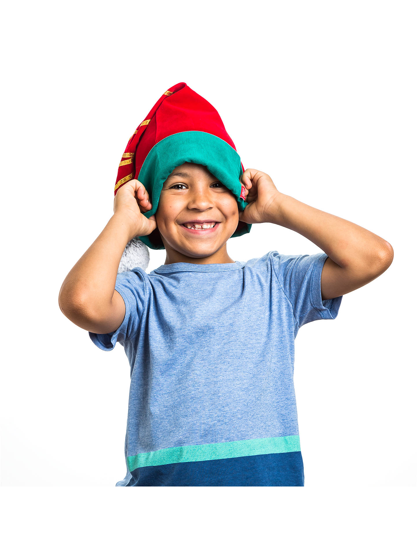 portable north pole do good elf hat at john lewis partners