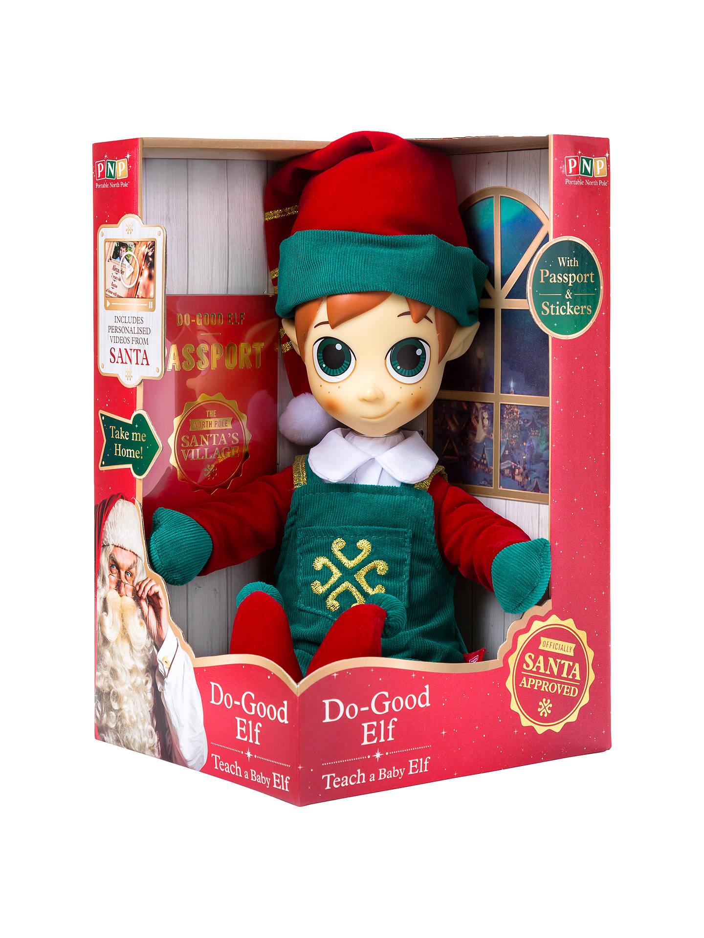 b06cfb38d2bd6 Buy Portable North Pole Do-Good Elf Online at johnlewis.com