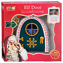 Buy Portable North Pole Magic Light Up Elf Door Online at johnlewis.com