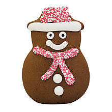 Buy Gingerbread Snowman, 90g Online at johnlewis.com