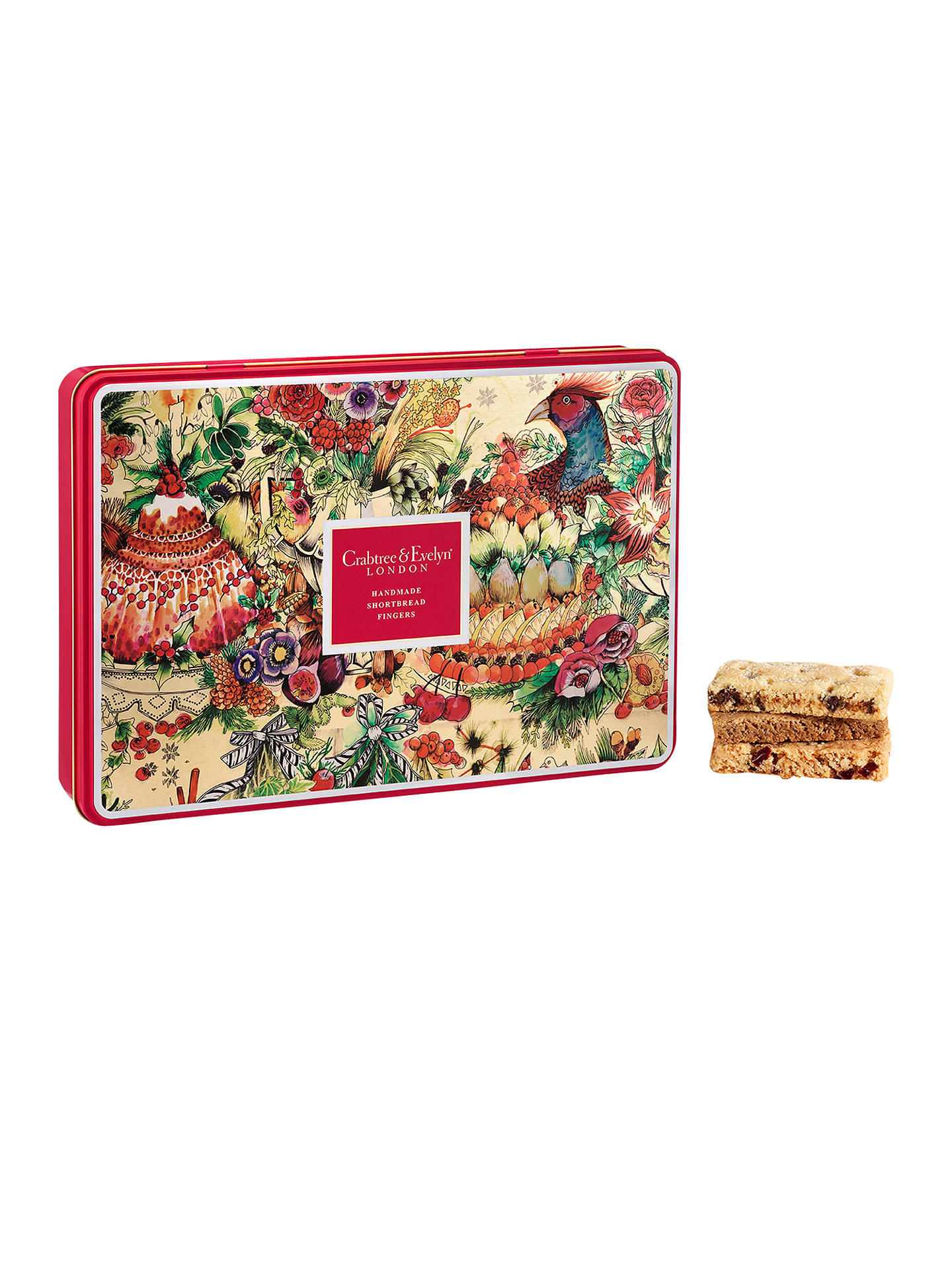Crabtree Evelyn Festive Shortbread Selection 480g At John Lewis