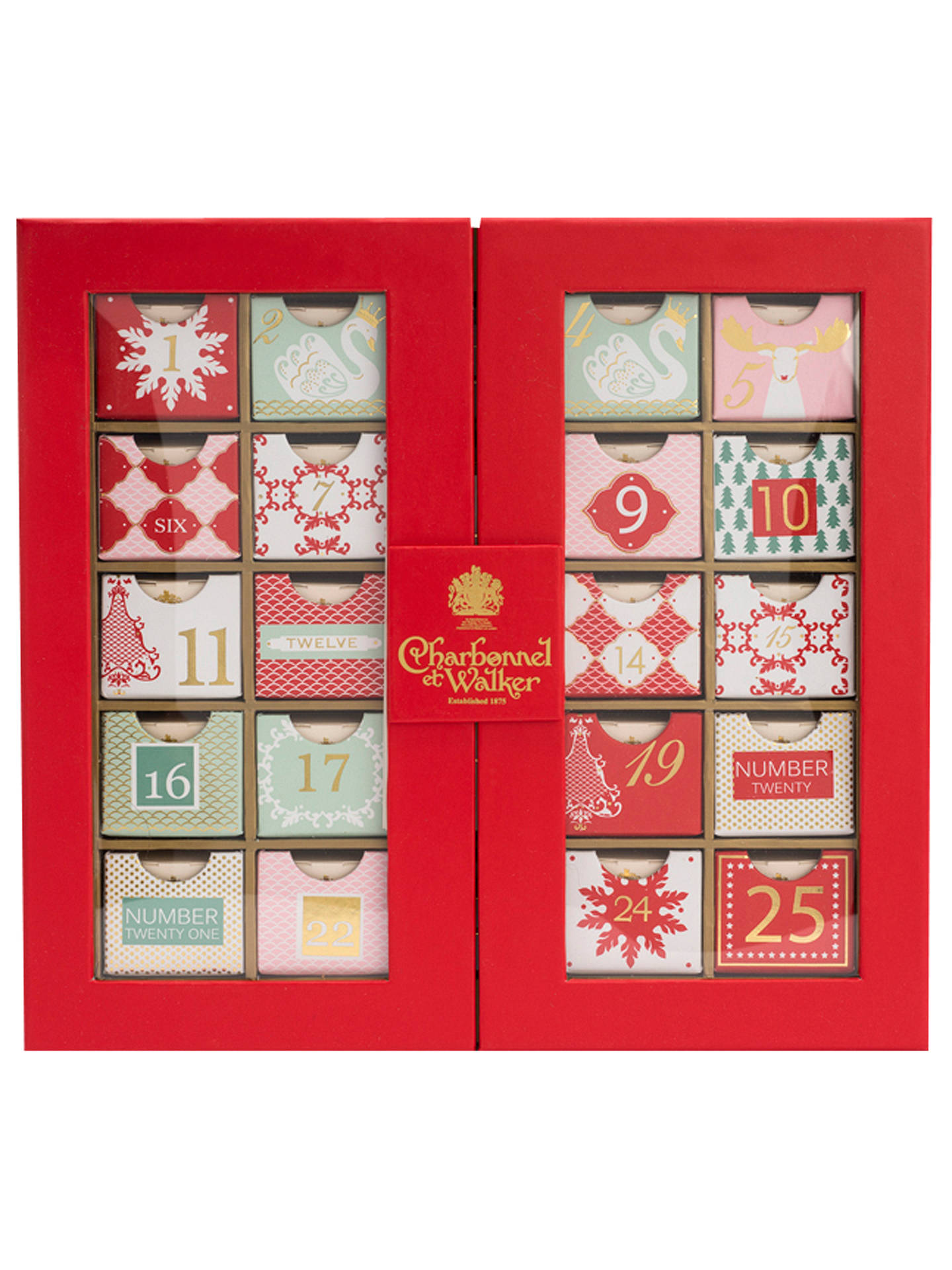 BuyCharbonnel et Walker Chocolate Advent Calendar, 310g Online at johnlewis.com