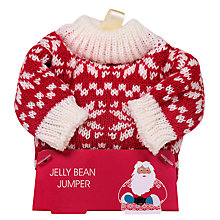 Buy Knitted Jumper Tree Decoration With Jelly Beans, 100g Online at johnlewis.com