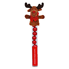 Buy Reindeer Finger Puppet, 50g Online at johnlewis.com