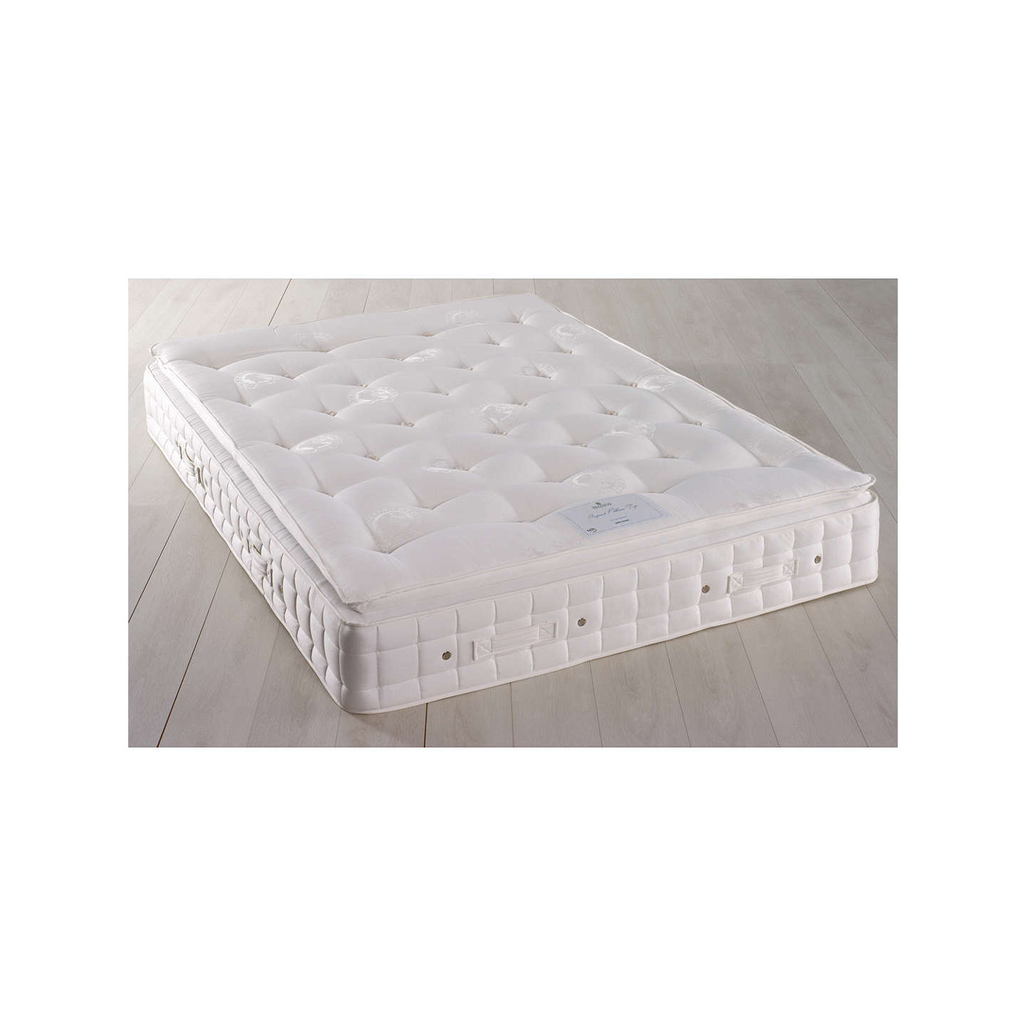 BuyHypnos Superb Pillow Top Pocket Spring Mattress, Firm, King Size Online  at johnlewis.