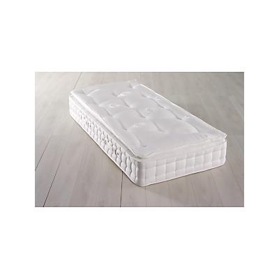 Hypnos Superb Pillow Top Pocket Spring Mattress, Firm, Single