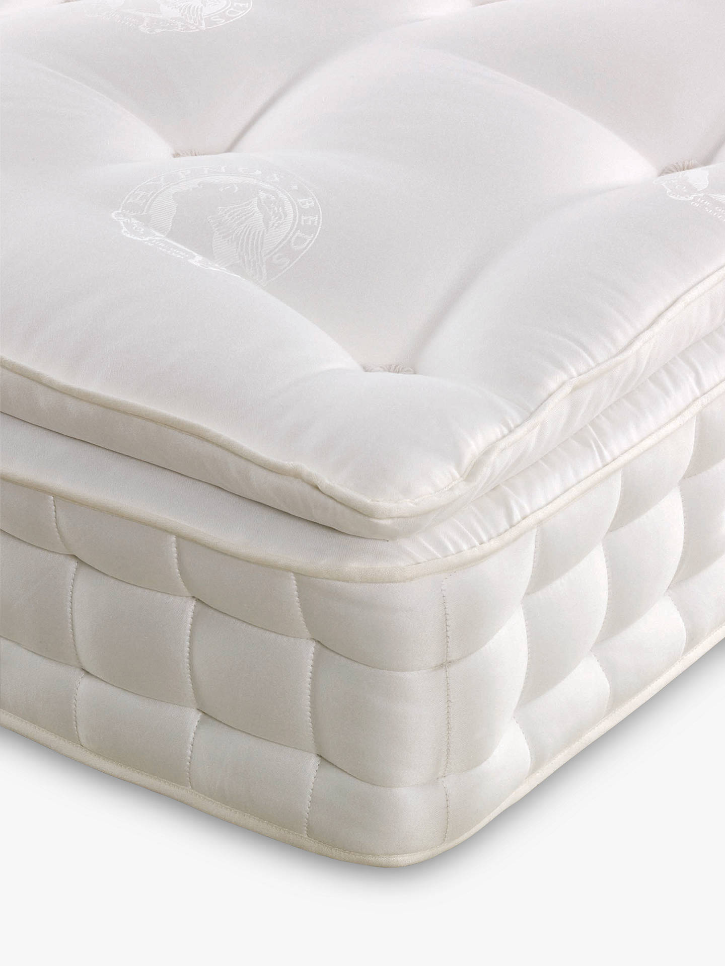 Buy Hypnos Superb Pillow Top Pocket Spring Mattress, Firm, Double Online at johnlewis.com