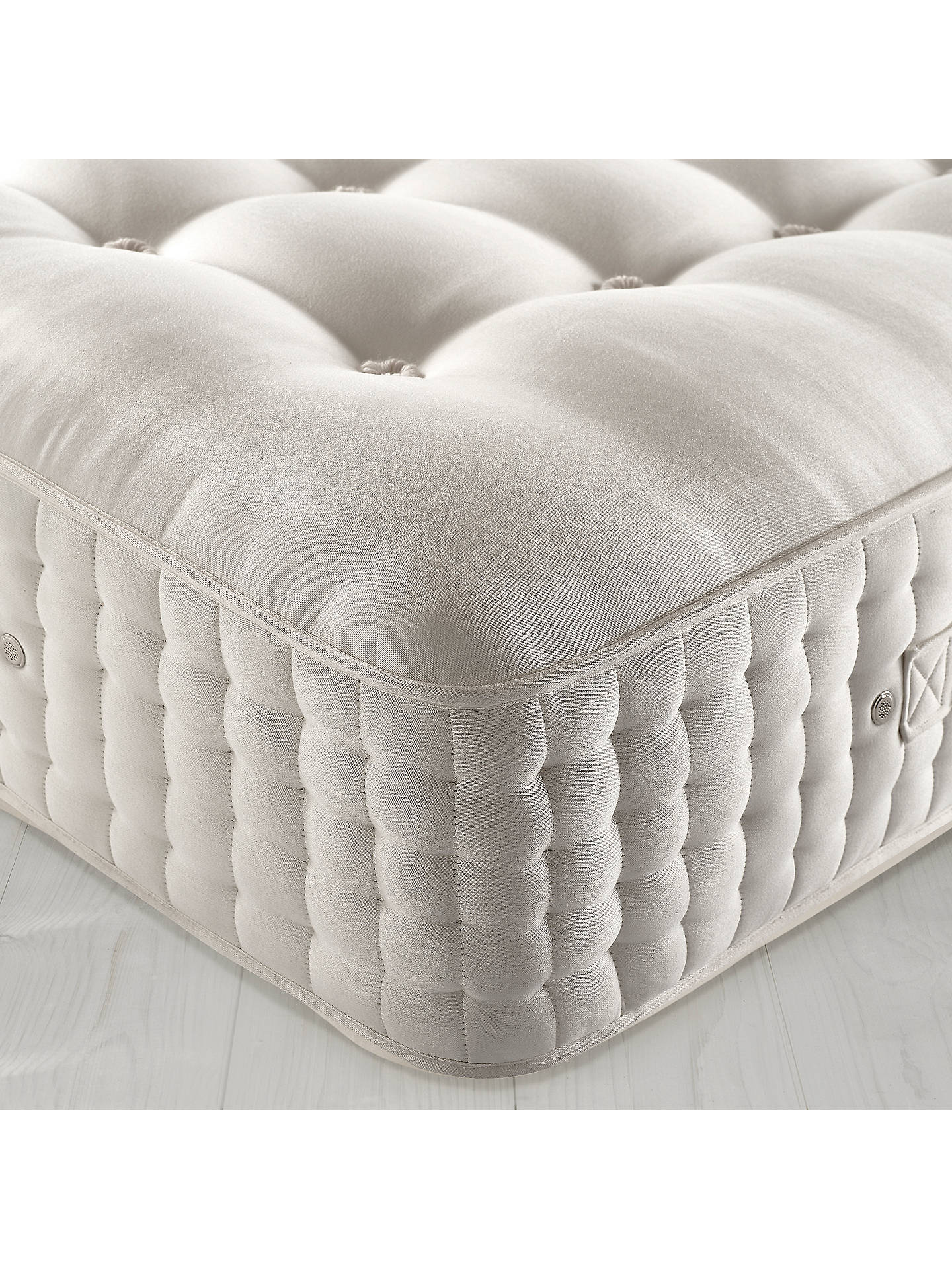 Buy John Lewis & Partners The Ultimate Collection Goat Angora Pocket Spring Mattress, Medium, Emperor Online at johnlewis.com