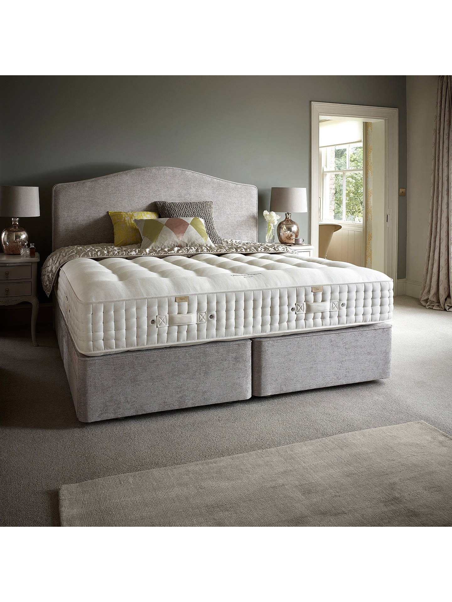 BuyJohn Lewis & Partners The Ultimate Collection Goat Angora Pocket Spring Mattress, Medium, King Size Online at johnlewis.com