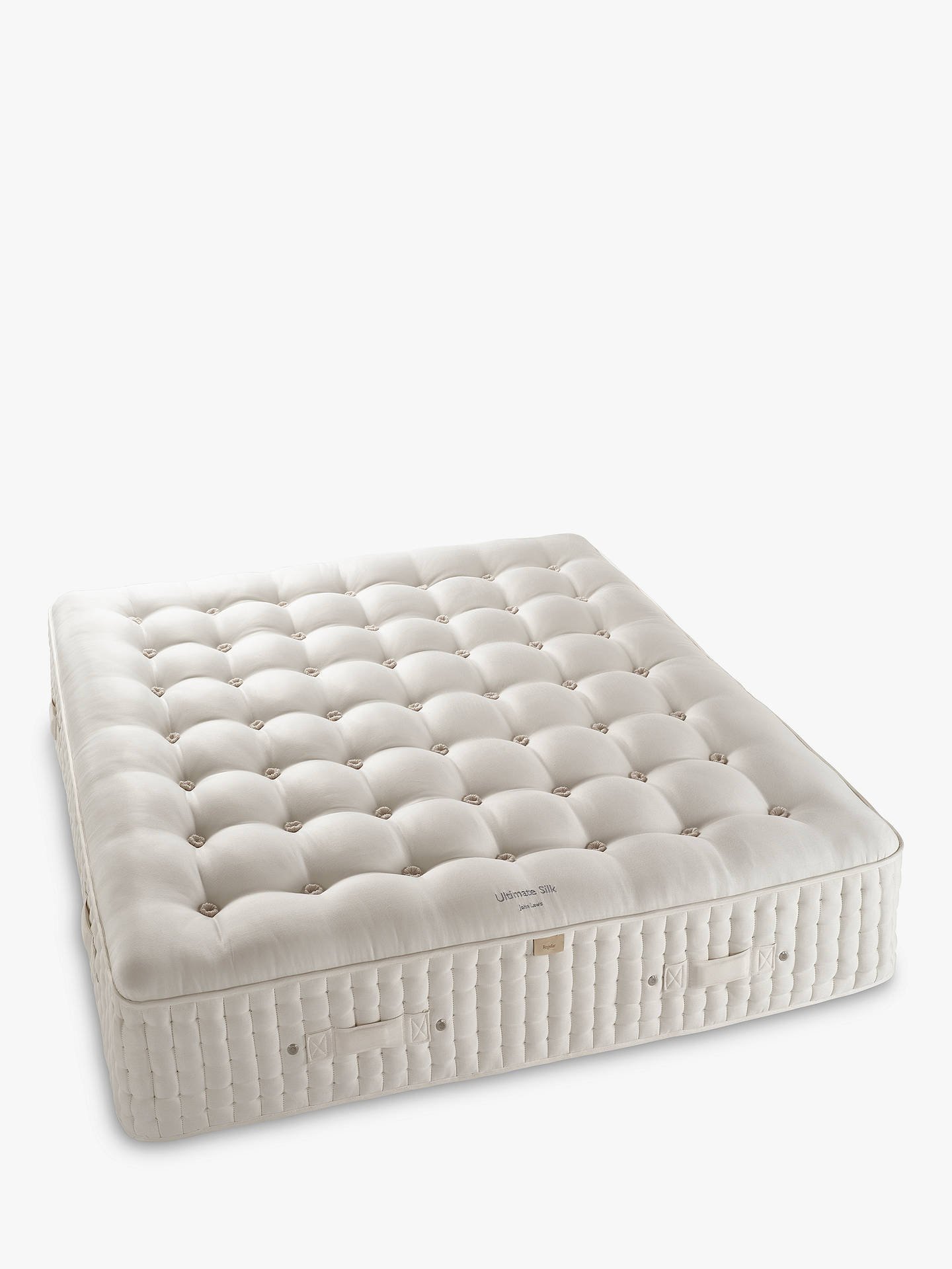 BuyJohn Lewis & Partners The Ultimate Collection Silk Pocket Spring Mattress, Medium, Super King Size Online at johnlewis.com