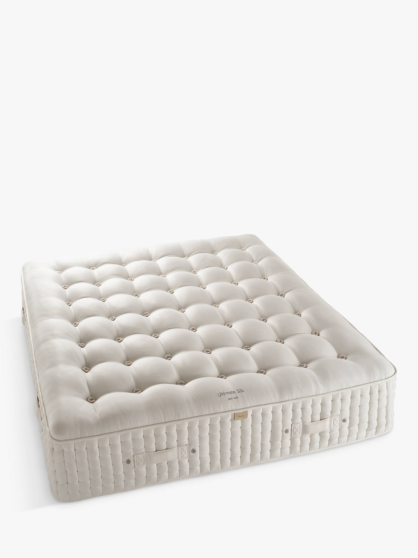 BuyJohn Lewis & Partners The Ultimate Collection Silk Pocket Spring Mattress, Medium, Emperor Online at johnlewis.com