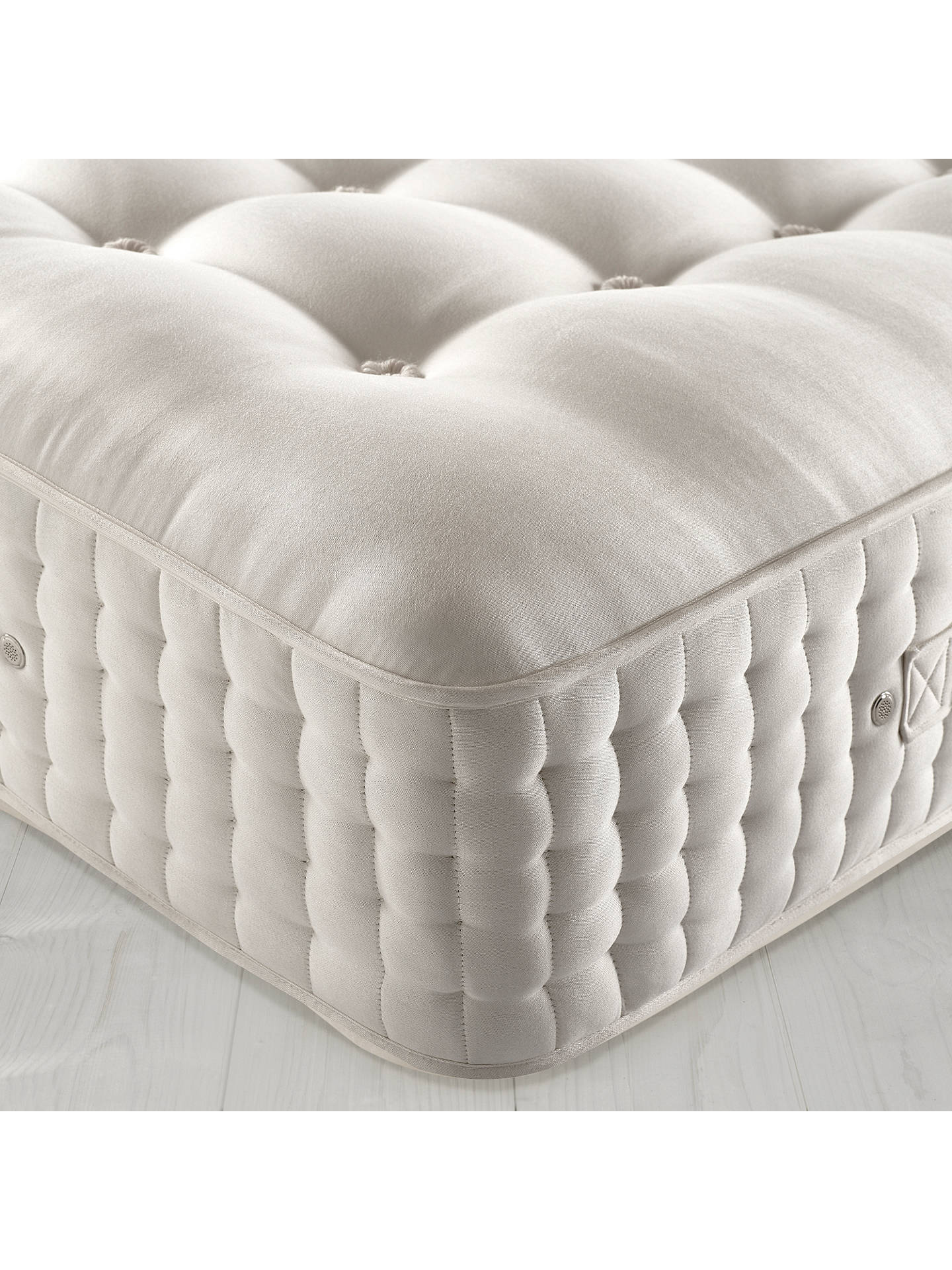 BuyJohn Lewis & Partners The Ultimate Collection Goat Angora Pocket Spring Mattress, Medium, Double Online at johnlewis.com