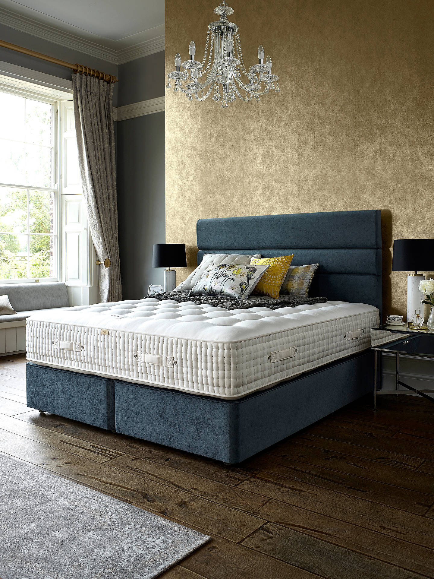 Buy John Lewis & Partners The Ultimate Collection Cashmere Pocket Spring Mattress, Medium, Double Online at johnlewis.com
