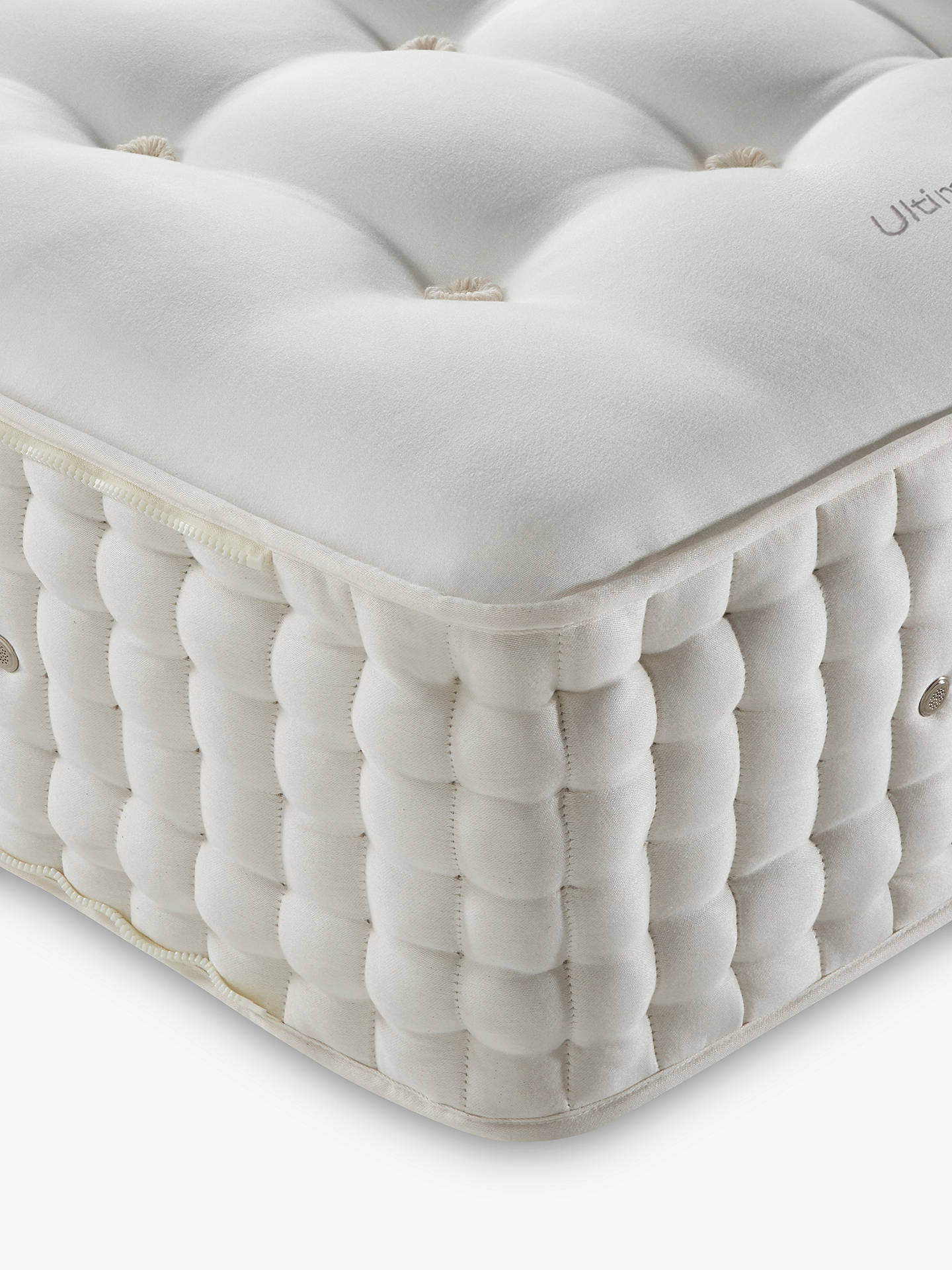 Buy John Lewis & Partners The Ultimate Collection Silk Pocket Spring Zip Link Mattress, Medium, King Size Online at johnlewis.com