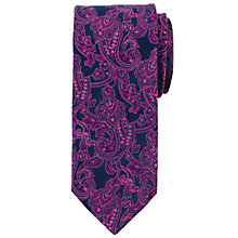 Buy John Lewis Satin Paisley Silk Tie Online at johnlewis.com