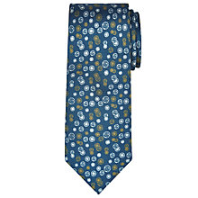 Buy JOHN LEWIS & Co. Circle Print Silk Tie Online at johnlewis.com