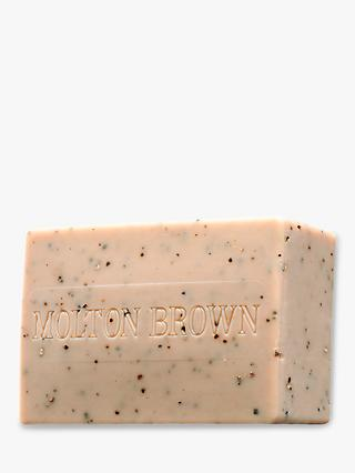 Molton Brown Re-Charge Black Pepper Scrub Bar, 250g