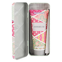 Buy Heathcote & Ivory Vintage Fabric & Flowers Hand Cream In Tin, 100ml Online at johnlewis.com