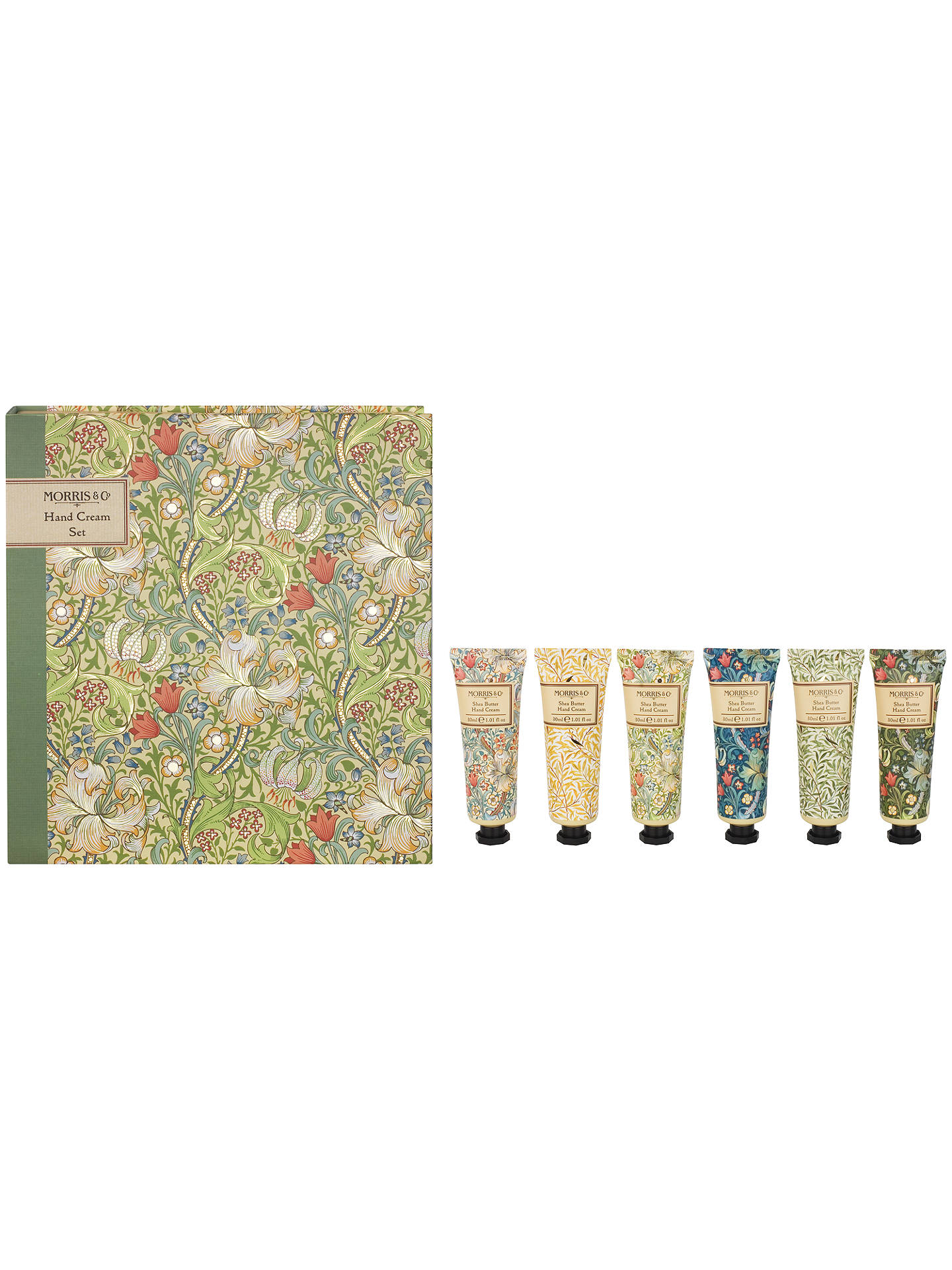 BuyHeathcote & Ivory Morris & Co Golden Lily Hand Cream Set Online at johnlewis.com