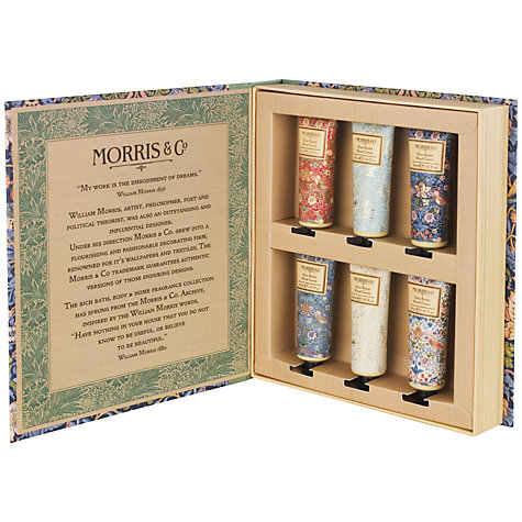 Buy Heathcote & Ivory Morris & Co Golden Lily Hand Cream Set Online at johnlewis.com