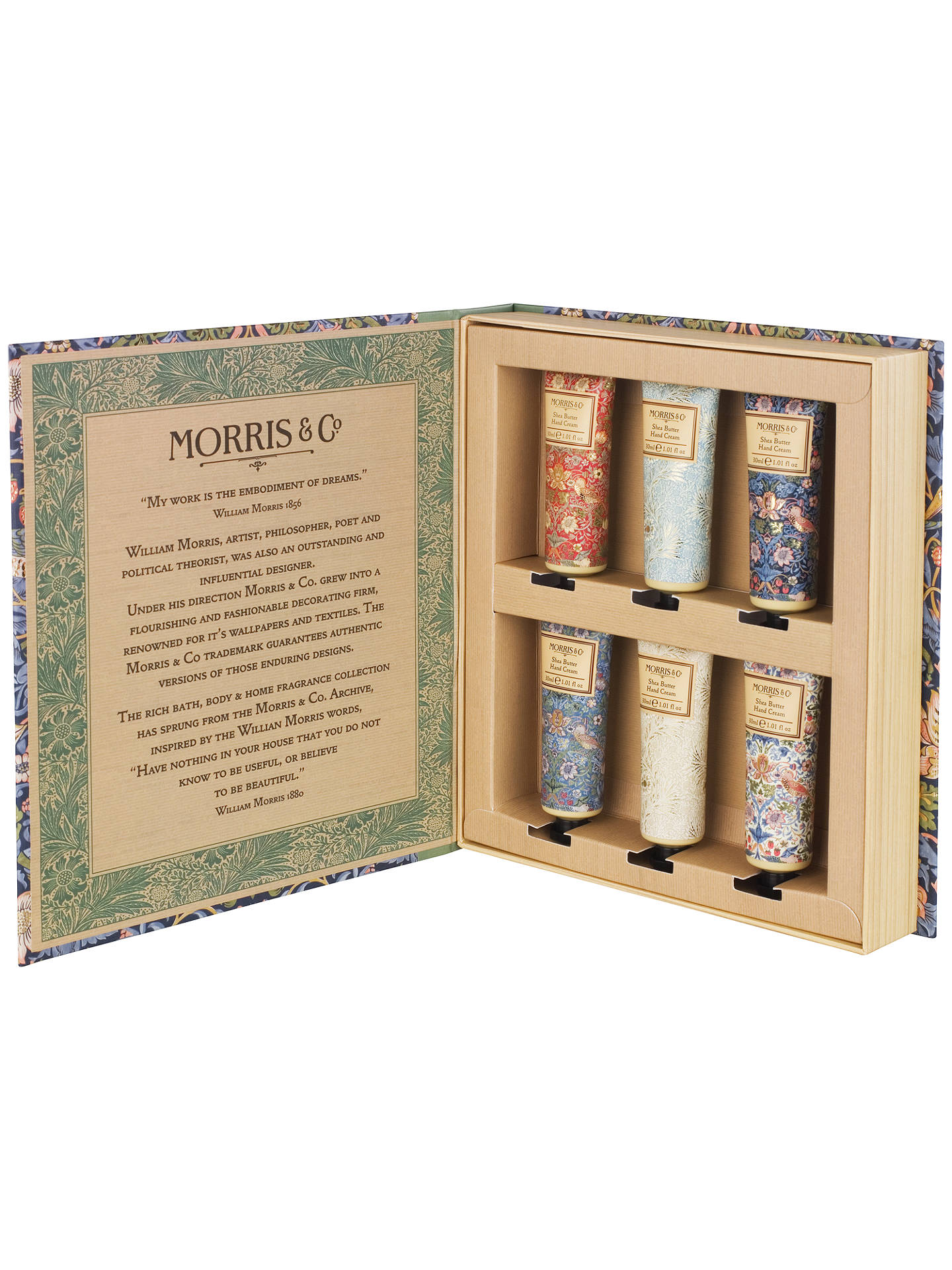 Buy Morris & Co. Golden Lily Hand Cream Library Online at johnlewis.com
